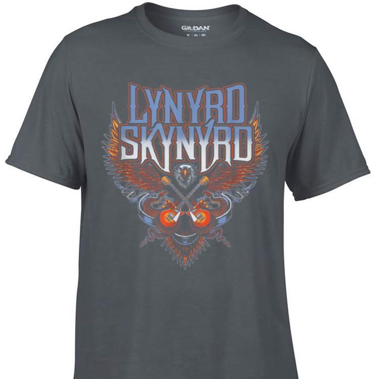 Aweome Lynyrd Skynyrd Eagle Guitar shirt 1 - Aweome Lynyrd Skynyrd Eagle Guitar shirt