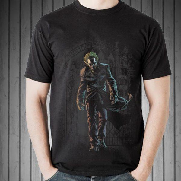 Awesome Batman Joker Leaves Arkham shirt