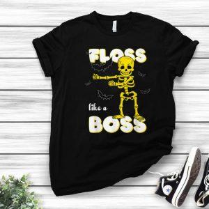 Awesome Floss Like A Boss Skeleton Halloween Gift