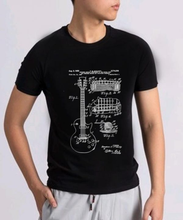 Awesome Guitar Patent Print 1955 shirt