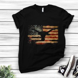 Awesome Vintage American Flag Longhorn shirt