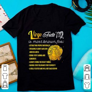 Awesome Virgo Facts Is Most Know For Attracting People Naturally shirt