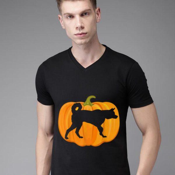 Beautiful Halloween Siberian Husky Pumpkin Women Men Dog Owners Gifts shirt