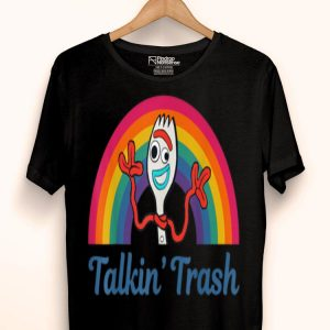 Disney Pixar Toy Story 4 Forky Talkin Trash Portrait shirt