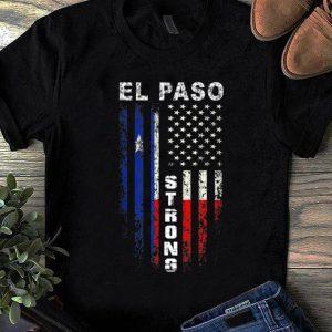 Hot American Flag El Paso Strong shirt