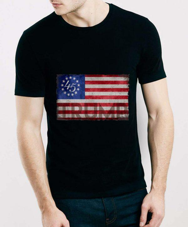 Hot Betsy Ross Flag Donald Trump 2020 shirt