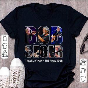 Hot Bob Seger Travelin Man The Final Tour shirt