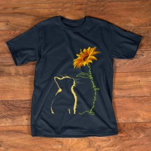 Hot Cat You Are My Sunshine Sunflower shirt