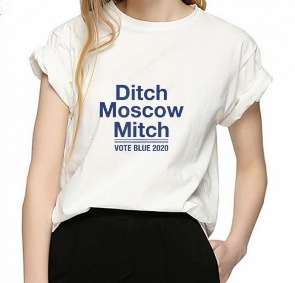 Hot Ditch Moscow Mitch Vote Blue 2020 shirt
