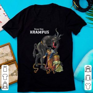 Hot Greetings From Gruss Vom Krampus Demon Christmas shirt