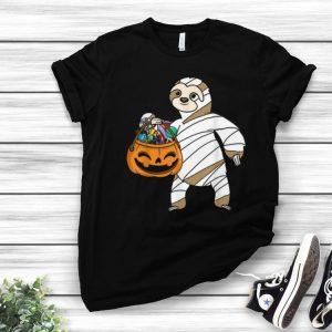 Hot Halloween Pumpkin Sloth Mummy Gift For Kids Boys Girls