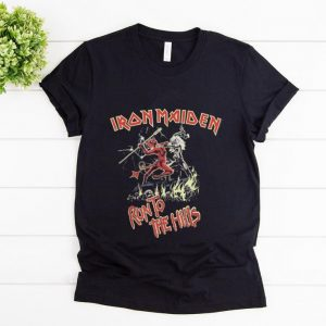 Hot Iron Maiden Run To The Hills shirt
