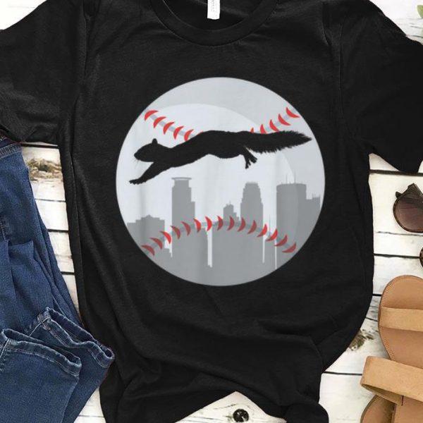 Hot Minneapolis Minnesota Squirrel Silhouette shirt