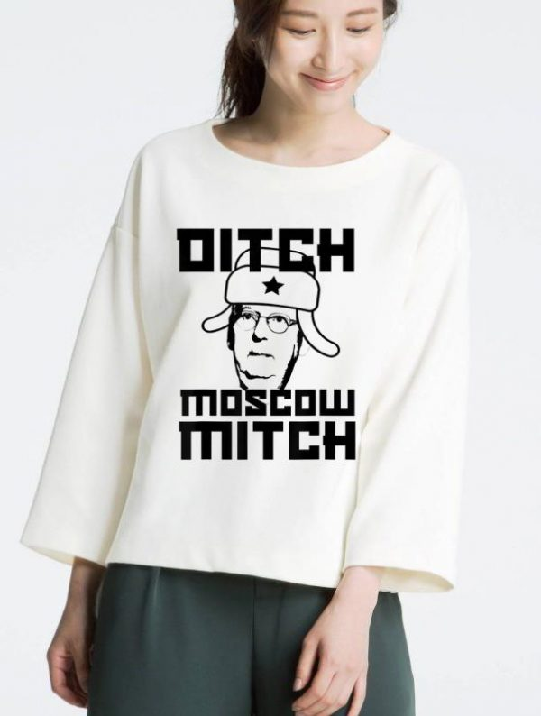 Hot Mitch McConnell Ditch Moscow Mitch shirt