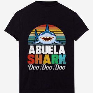 Hot Vintage Abuela Shark Doo Doo Doo shirt