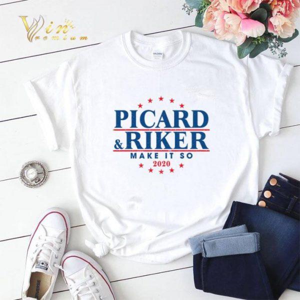 Make it so 2020 Picard & Riker shirt