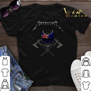 Metallica Australia flag Viking Skull shirt sweater
