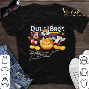 Mickey Mouse drink Dutch Bros coffee shirt sweater