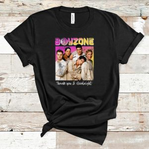 Nice Boyzone Thank You & Goodnight 2019 Tour Merchandise shirt