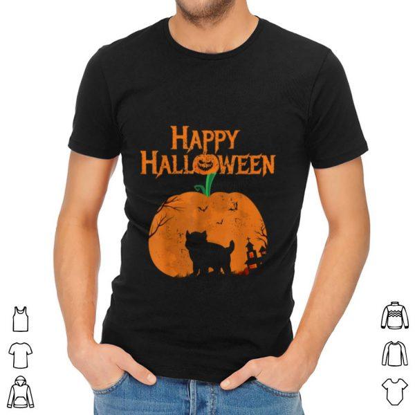 Nice Happy Halloween French Bulldog Pumpkin shirt
