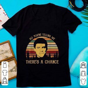 Nice Jim Carrey So You're Telling Me There's a Chance Vintage shirt