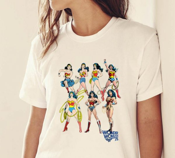 Nice Wonder Woman Decades DC shirt