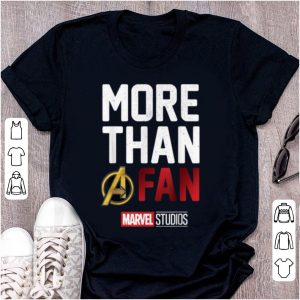 Official Avengers More Than A Fan Marvel Studio shirt