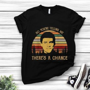 Official Jim Carrey So You're Telling Me There's a Chance Vintage shirt