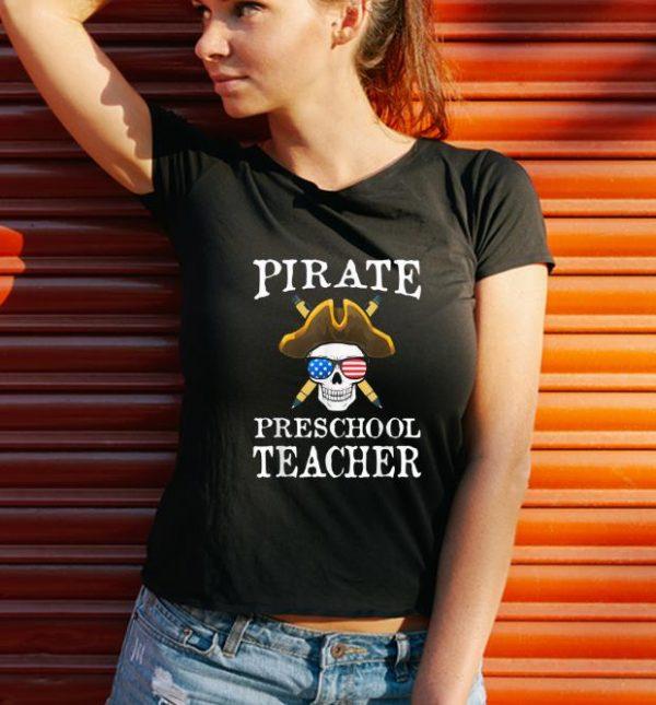 Official Preschool Teacher Halloween Party Costume Gift shirt