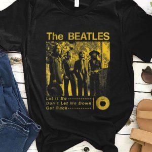 Official The Beatles Sepia 1969 shirt