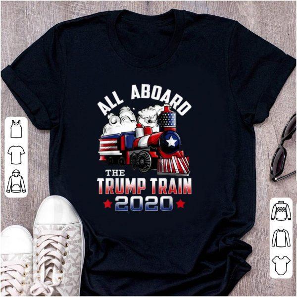 Original All Board The Trump Train 2020 shirt