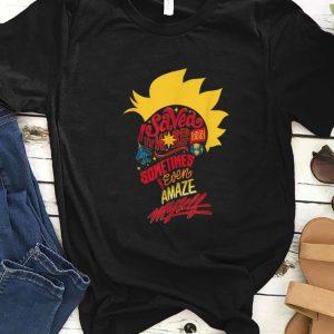Original Captain Marvel Mohawk I Saved The World Today shirt
