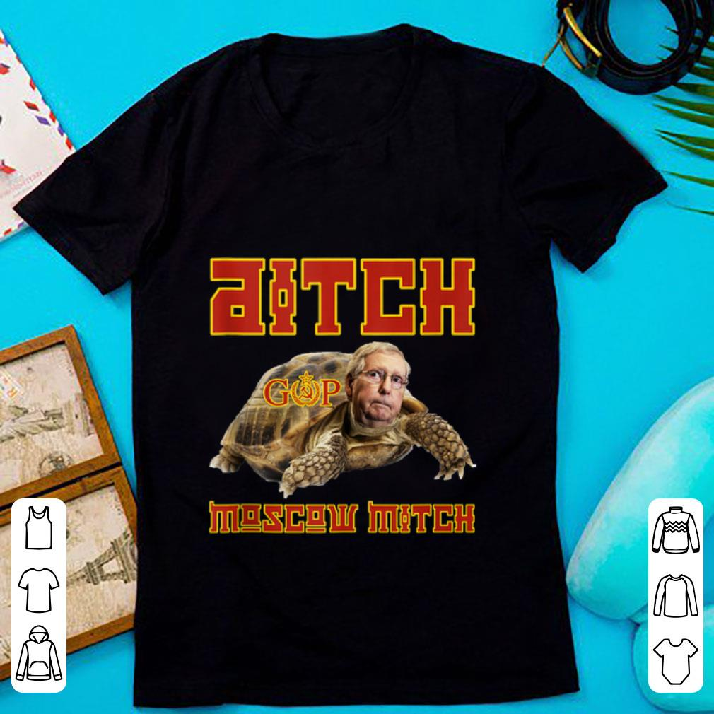 Original Ditch Moscow Mitch McConnell Turtle shirt 1 - Original Ditch Moscow Mitch McConnell Turtle shirt