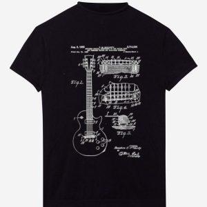 Original Guitar Patent Print 1955 shirt