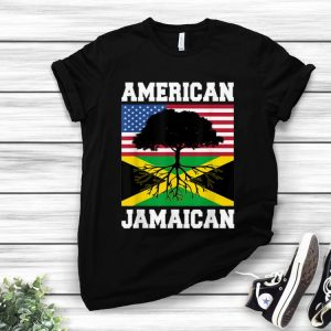 Original Jamaican American Flag Grown Roots shirt