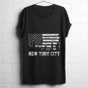 Original New York City American Flag shirt