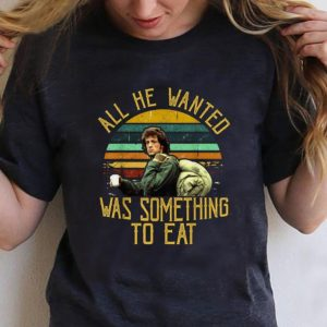 Original Rambo All He Wanted Was Something To Eat Vintage shirt