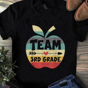 Original Team 3rd Grade Back To Shool Vintage shirt