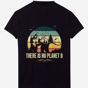 Original Vintage Bear There Is No Planet B shirt