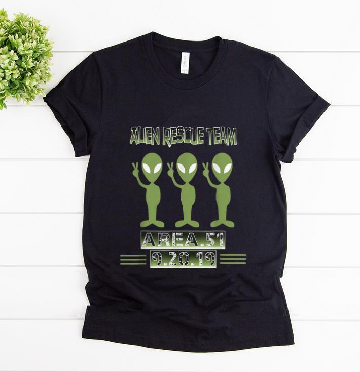 Premium Alien Rescue Team Area 51 shirt 1 - Premium Alien Rescue Team Area 51 shirt