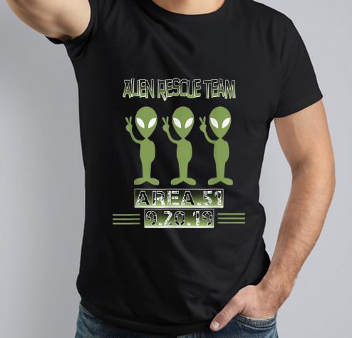 Premium Alien Rescue Team Area 51 shirt