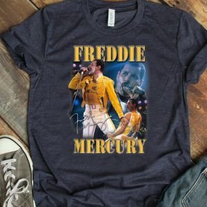 Premium Freddie Mercury Live Homage Champion Signature shirt