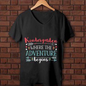 Premium Kindergarten Where the Adventure begin shirt