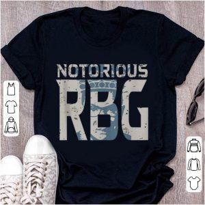 Premium Notorious RBG Silhouette shirt