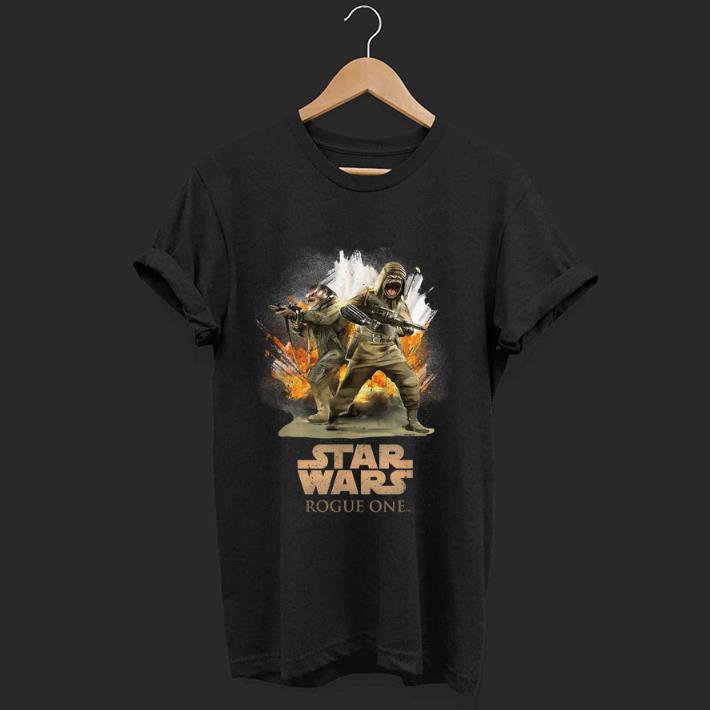 Premium Star Wars Rogue One Pao and Bistan Battle shirt 1 - Premium Star Wars Rogue One Pao and Bistan Battle shirt