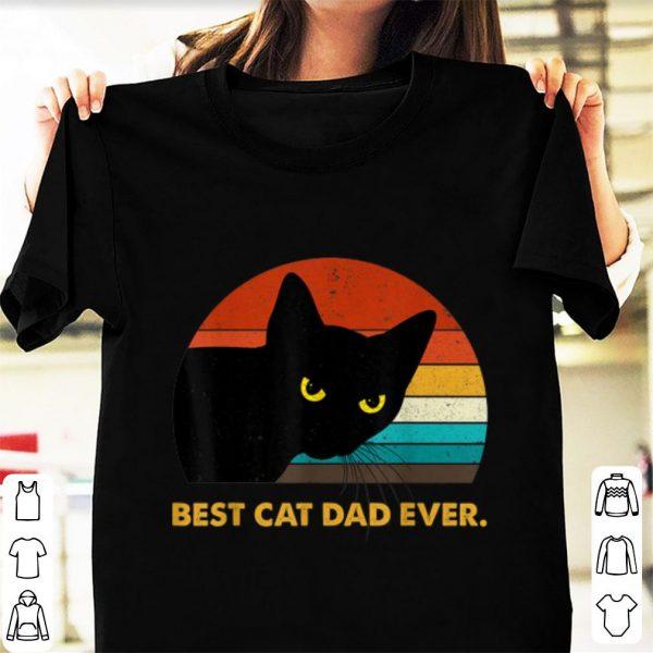 Pretty Best Cat Dad Ever Vintage shirt