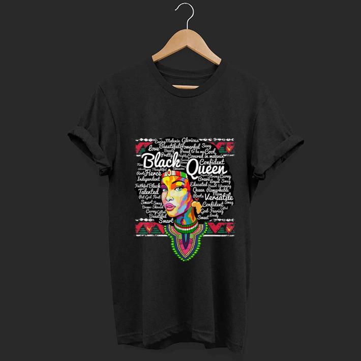 Pretty Dashiki Black Queen History Melanin shirt 1 - Pretty Dashiki Black Queen History Melanin shirt