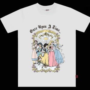Pretty Disney Cartoon Princess Once Upon A Time shirt
