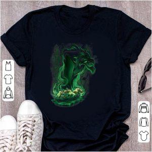Pretty Disney Lion King Scar Green Smoke shirt