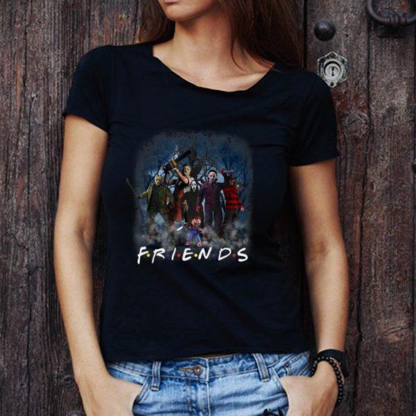 Pretty Friends Halloween Scary Horror Movie shirt